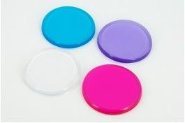 圆形硅胶粉扑